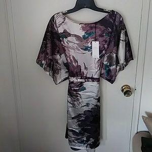 NWWT BCBG floral tunic